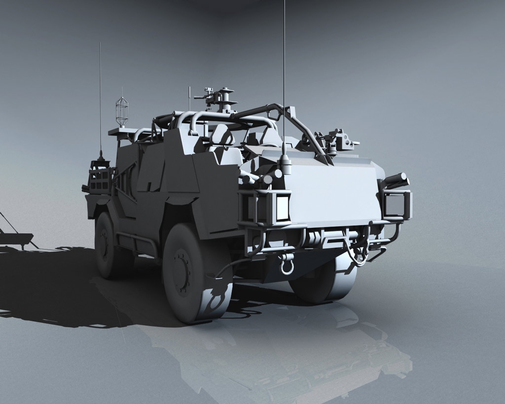 RKSL Studios Jackal Protected Patrol Vehicle