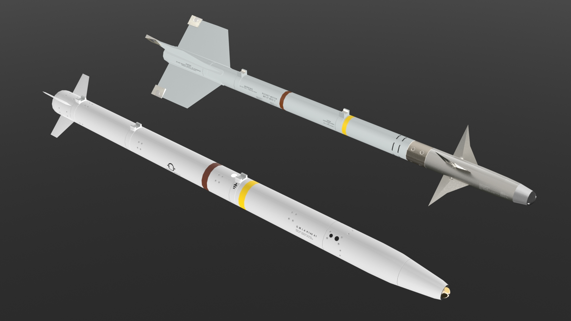 AIM9M and AIM-132 ASRAAM